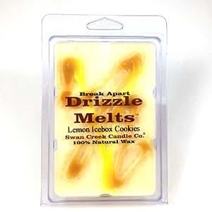 Swan Creek Lemon Icebox Cookies Drizzle Melts