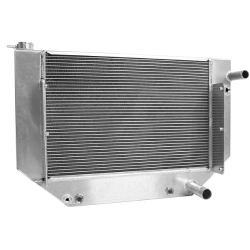 LS1 Crate Engine Griffin Radiator 1955-1957 Chevrolet Radiator LS1 Outlets w/ transcooler