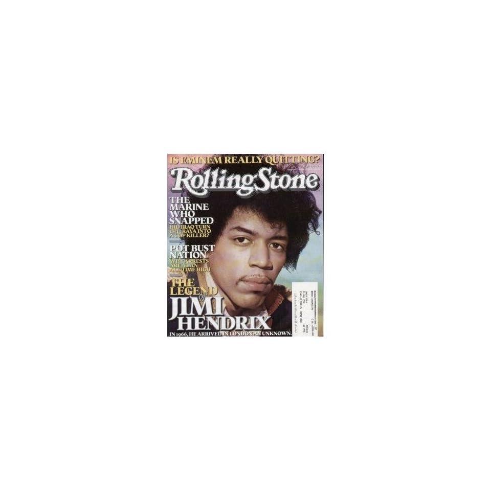 Rolling Stone Magazine # 980 August 11 2005 Jimi Hendrix (Single Back Issue)