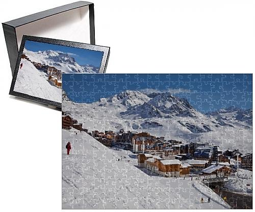 Photo Jigsaw Puzzle of Val Thorens ski resort, 2300