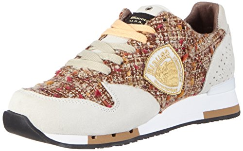 Blauer USAWORUNORI - Sneaker donna , Avorio (avorio (bianco)), 39