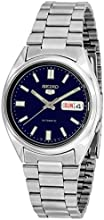 Comprar Seiko 5 Mens Silver Stainless Steel Day & Date Watch SNXS77