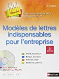 modeles de lettres indispensables pour l'entreprise + cd rom -sos bureau- 2007