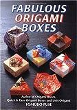 518Q2%2BOAkDL. SL160  Fabulous Origami Boxes by Tomoko Fuse