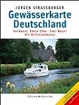 Gew�sserkarte Deutschland Nordwest: R...