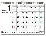 ホワイトボードスケジュール [2012年 カレンダー]
