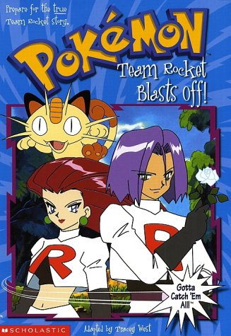Pokemon Chapter Book #05: Team Rocket Blast Off!