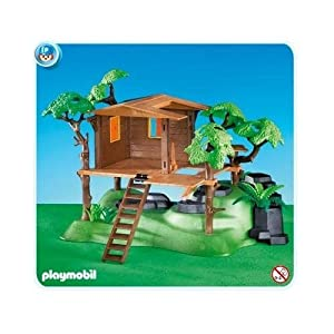 Amazon.com: Playmobil Tree House: Toys & Games