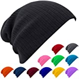 caripe Long Beanie Mütze - mp1