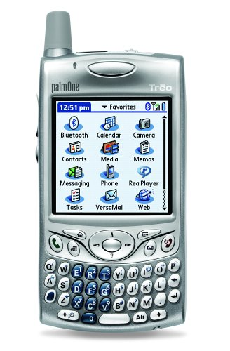 PalmOne Treo 650 Unlocked PDA Phone with MP3/Video Player, SD/MMC--U.S. Version with Warranty (Silver)