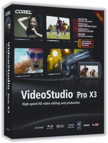 VideoStudio Pro X3 English/French Mini-Box (bilingual software)