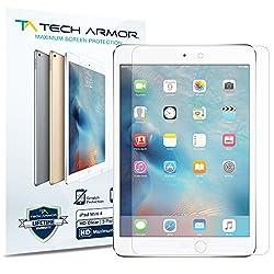 Tech Armor HD Clear Screen Protectors for Apple iPad Mini 4 (3-Pack)