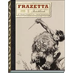 The Frazetta Sketchbook by Frank Frazetta and J. David Spurlock