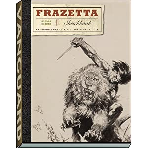 The Frazetta Sketchbook i hc og sc