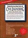 img - for Principles & Practice of Civil Engineering: The Most Efficient and Authoritative Review Book for the PE License Exam (2nd Ed) book / textbook / text book