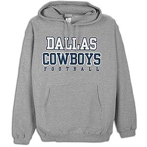 Dallas Cowboys Mens Practice Fleece Hood by Dallas Cowboys