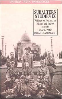 ranajit guha subaltern studies vol 1 pdf