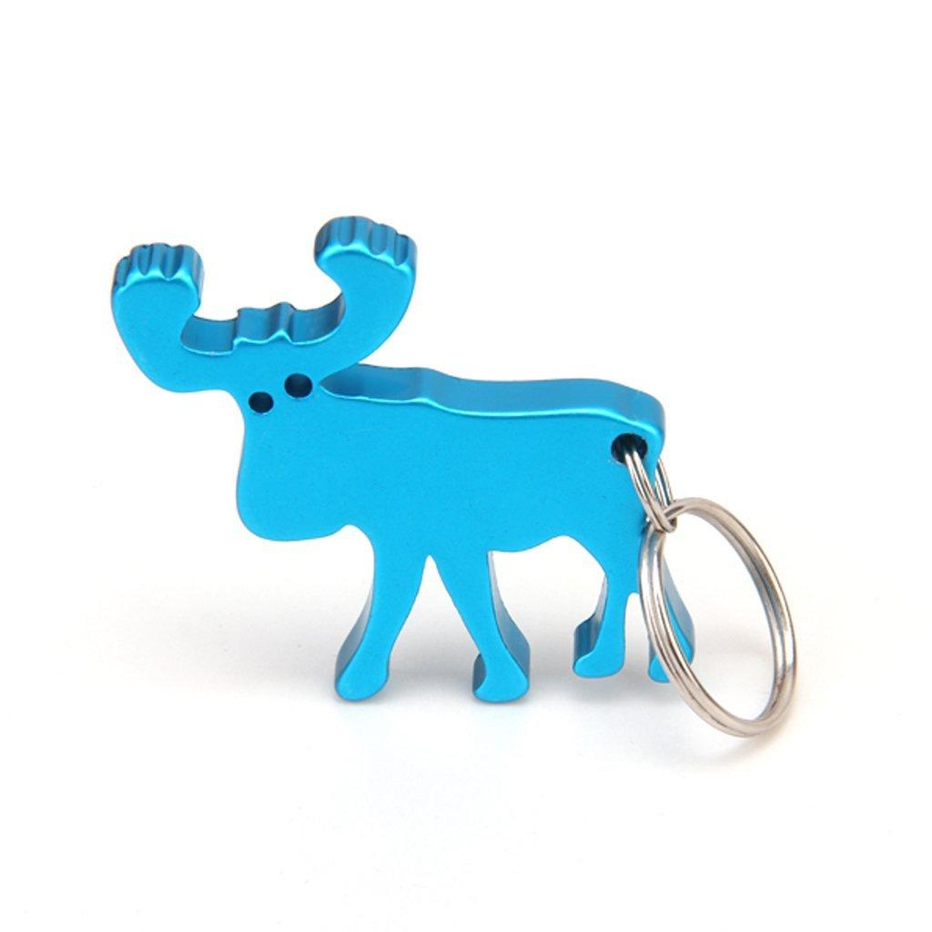 SODIAL(R) Abrebotella en Forma de Reno de Color Azul   Comentarios de clientes y más Descripción