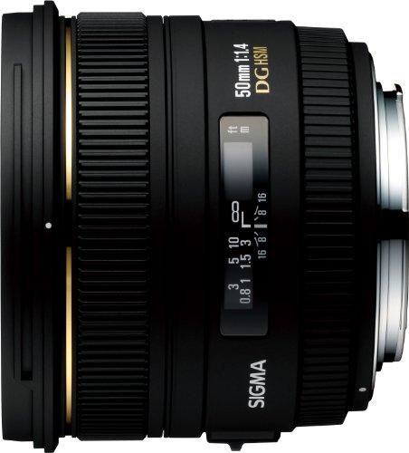 Sigma 50mm f/1.4 EX DG HSM Lens (Canon EF Mount)