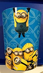 Minions Despicable Me Wastebasket and Trash Bin