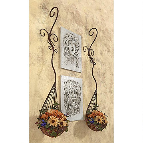 Barcelona Sculptural Metal Wall Pocket