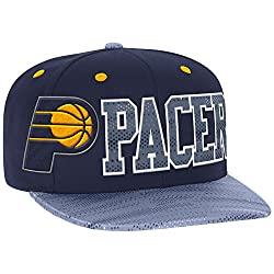 NBA Indiana Pacers Men's Surface Snapback Hat, One Size, Navy