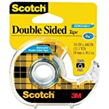 Scotch® Removable DoubleSided Tape 3/4 inch x 400 inches Dispenser  (667)