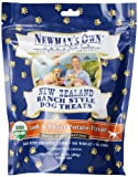 Newmans Own Organics New Zealand Ranch Style Dog Treats, Lamb and Sweet Potato, 10-Ounce (Pack of 6)