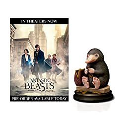 Fantastic Beasts and Where To Find Them (Amazon Exclusive Niffler Figurine) [Blu-ray]
