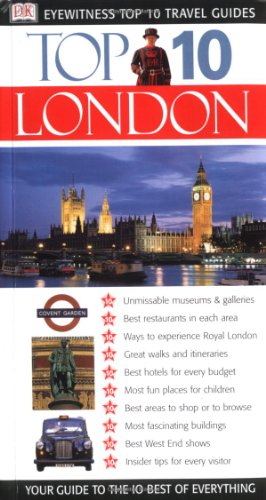 Eyewitness Top 10 Travel Guide To London front-313257