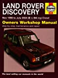 Land Rover Discovery Diesel Service and Repair Manual: 1998 to 2004 (Haynes Service and Repair Manuals)