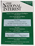 img - for The National Interest (Number 55, Spring 1999) book / textbook / text book