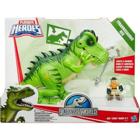 Playskool Heroes Jurassic World T-Rex Figure Your Little one can Gear up for Epic Prehistoric Adventures