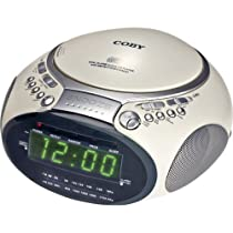 CD Player with dual Alarm Clock