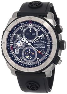 Armand Nicolet Men's T618A-GR-G9610 S05 Sporty Automatic Titanium Watch
