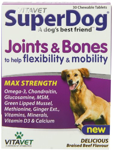 Vitabiotics Superdog Joints and Bones - 30 Tablets