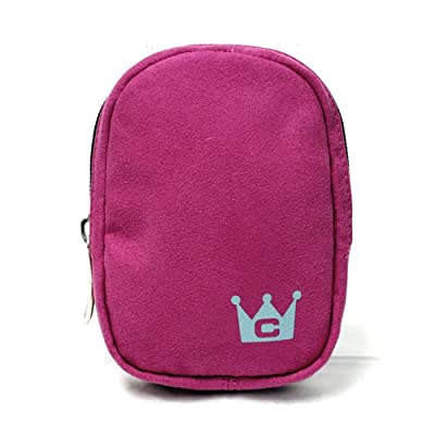 Kodak Easyshare C613 Carrying CaseCrown Simply Camera Case in Faux Suede (Hot Pink)
