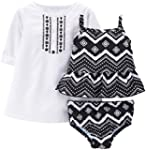 Carter's Baby Girls' 3 Piece Swim Set...