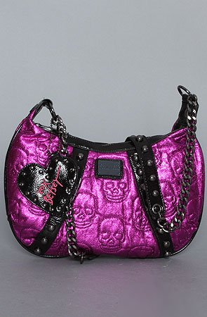 Betsey Johnson The Betseyville Captain Skully Crossbody Purse,Bags (Handbags/Totes) for Women