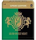 RICO リード グランドコンサートセレクト ソプラノサクソフォーン 強度:3.5(10枚入) RGC10SSX350