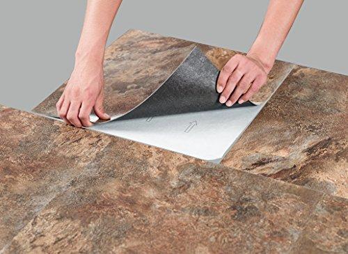 Achim home furnishings mjvt180410 majestic vinyl floor for 18 x 18 vinyl floor tile