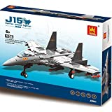 F15 Army Fighter War Plane 281pcs Building Bricks Air Force Military Aircraft Battle Jet Vehicle Building Blocks...