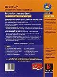 Image de DCG 1 - Introduction au droit 2014/2015 - 8e édition - Manuel et applications: Manuel et Applications, QCM et questions de cours corrigées