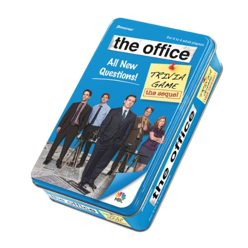 518QZTFKkWL Reviews The Office Trivia Game in Tin   The Sequel