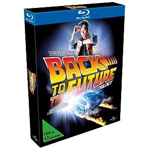 25th Anniversary Trilogie Blu-ray / Blue-ray Box von Zurück in die Zukunft