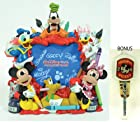 Disney Parks Mickey And Friends FAB 6 Painting Photo Frame - Disney Theme Parks Exclusive & Limited Availability - BONUS - Mickey Mouse Pen & Notepad Included