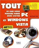 echange, troc Jean-François Sehan - Tout ce que vous pouvez faire avec votre PC et Windows Vista