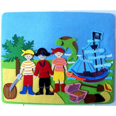 Sassafras Yo Ho Ho Pirate Play Set - 1
