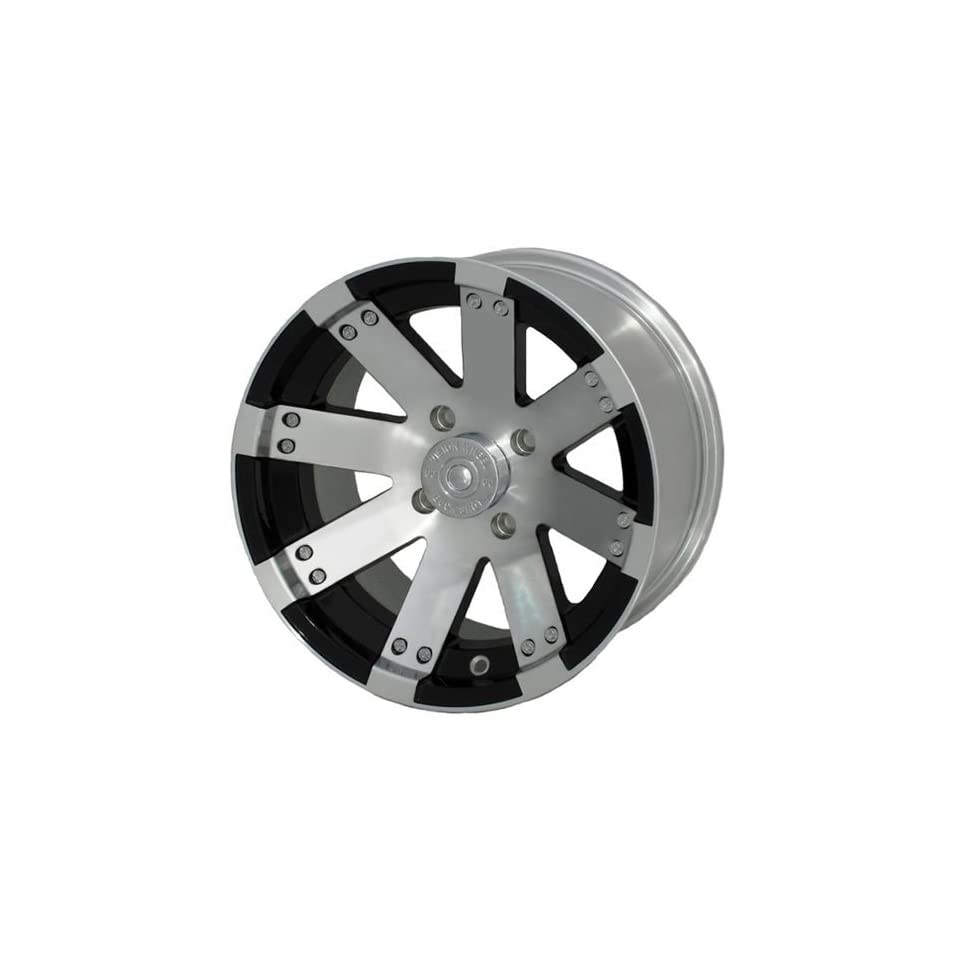 Vision Buck Shot 14 Machined Black Wheel / Rim 4x156 with a 2.5mm Offset and a 131.1 Hub Bore. Partnumber 158 147156BW4 Automotive