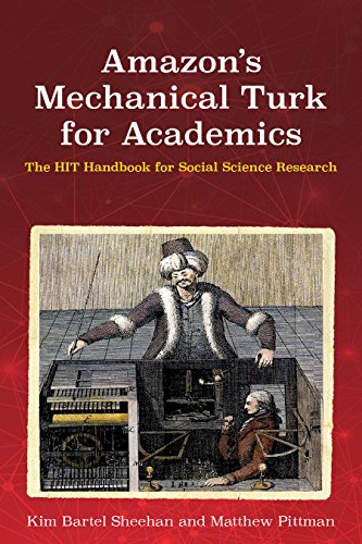 Amazon's Mechanical Turk for Academics: The HIT Handbook for Social Science Research (Mechanical Turk Service compare prices)
